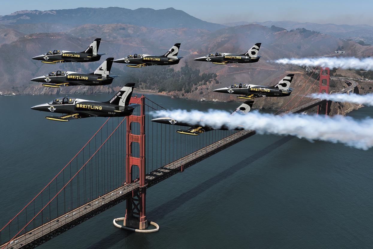 Breitling Jet Team conquers America