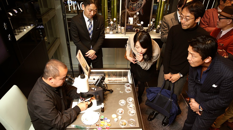 Jaquet Droz Japan Opening Enamel Artist
