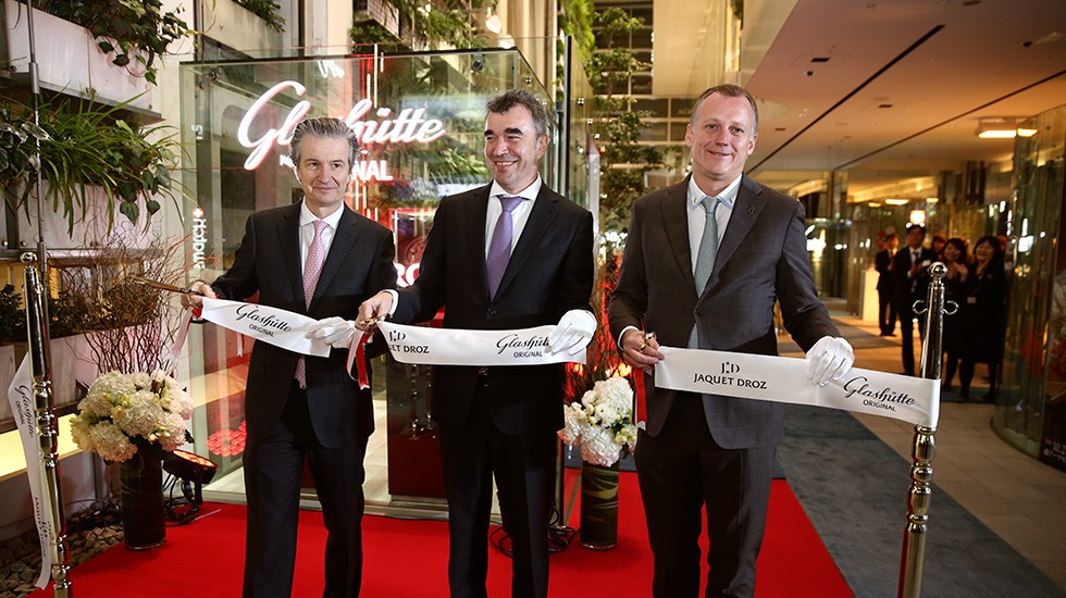 Jaquet Droz Japan Opening Ribbon Cut