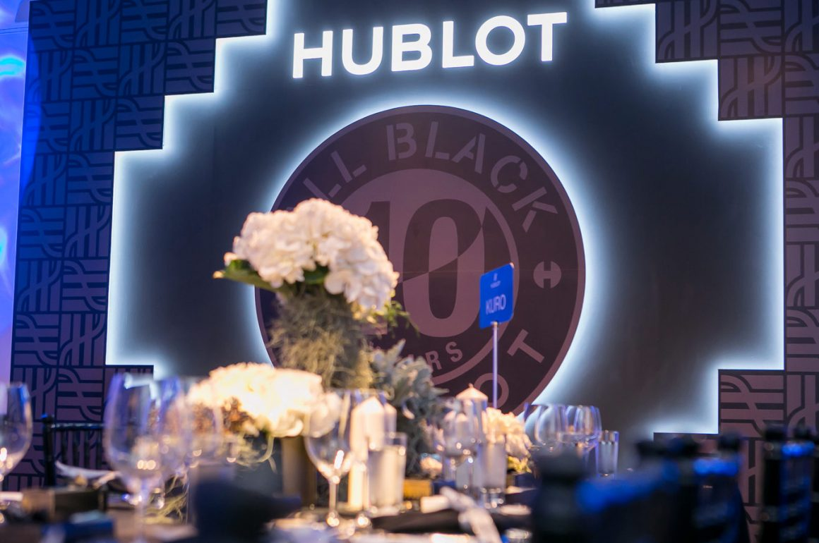 Hublot All Black Event Singapore