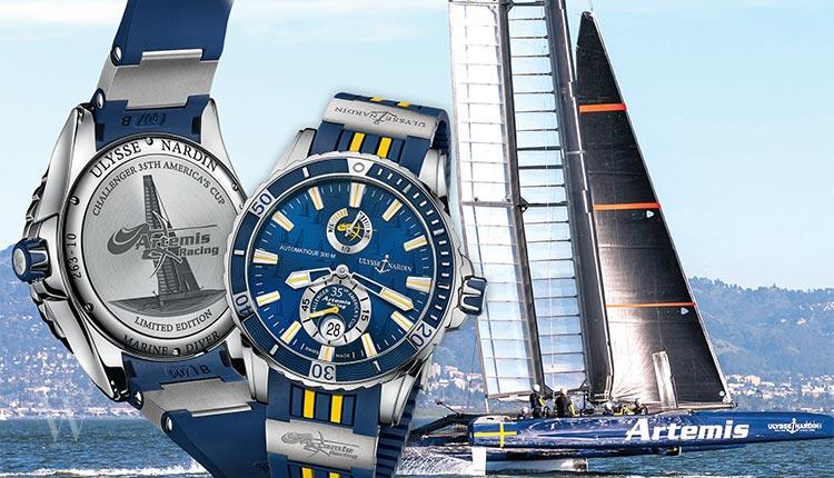 Ulysse Nardin Marine Diver Chronograph Artemis Racing Watch