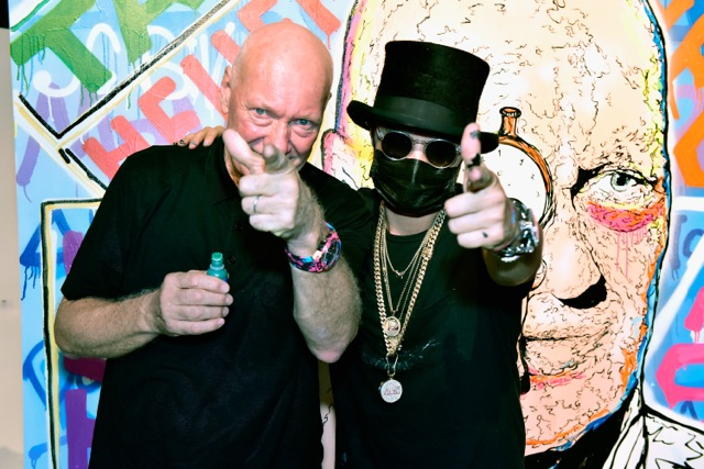 Alec Monopoly and TAG Heuer
