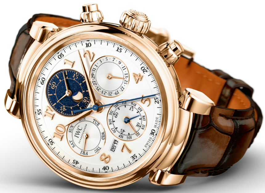 IWC Da Vinci Perpetual Calendar Chronograph Watch
