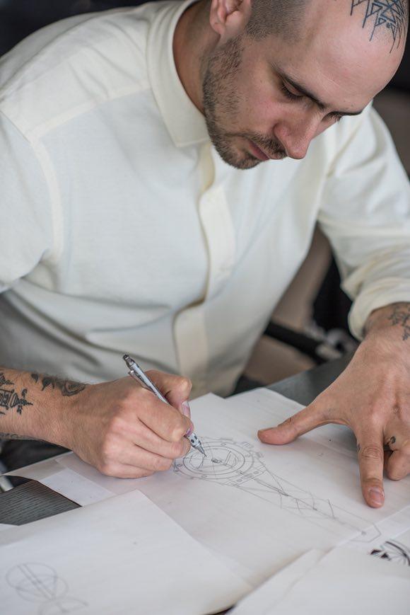 Maxime Buchi at Hublot Manufacture