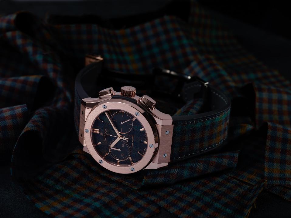 Classic Fusion Chronograph Italia Independent Tartan King Gold