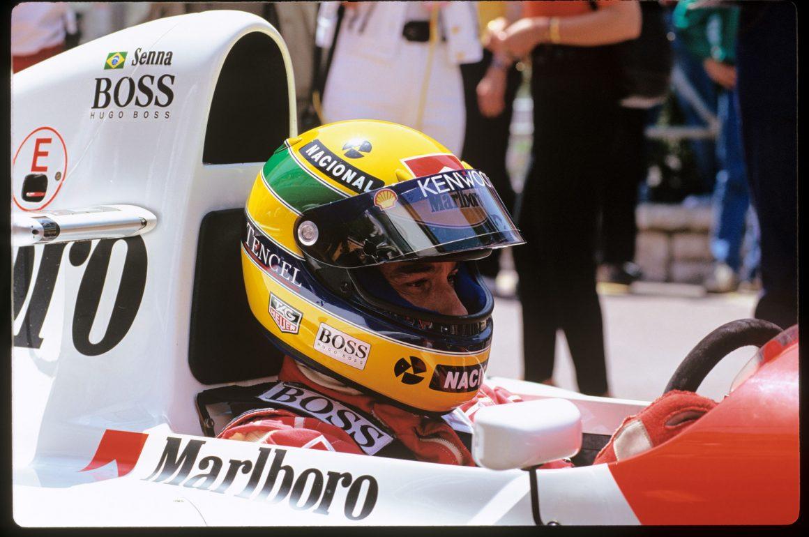 Ayrton Senna in Monaco - @Norio Koike (2)