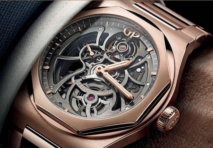 Girard-Perregaux Laureato Skeleton Pink Gold
