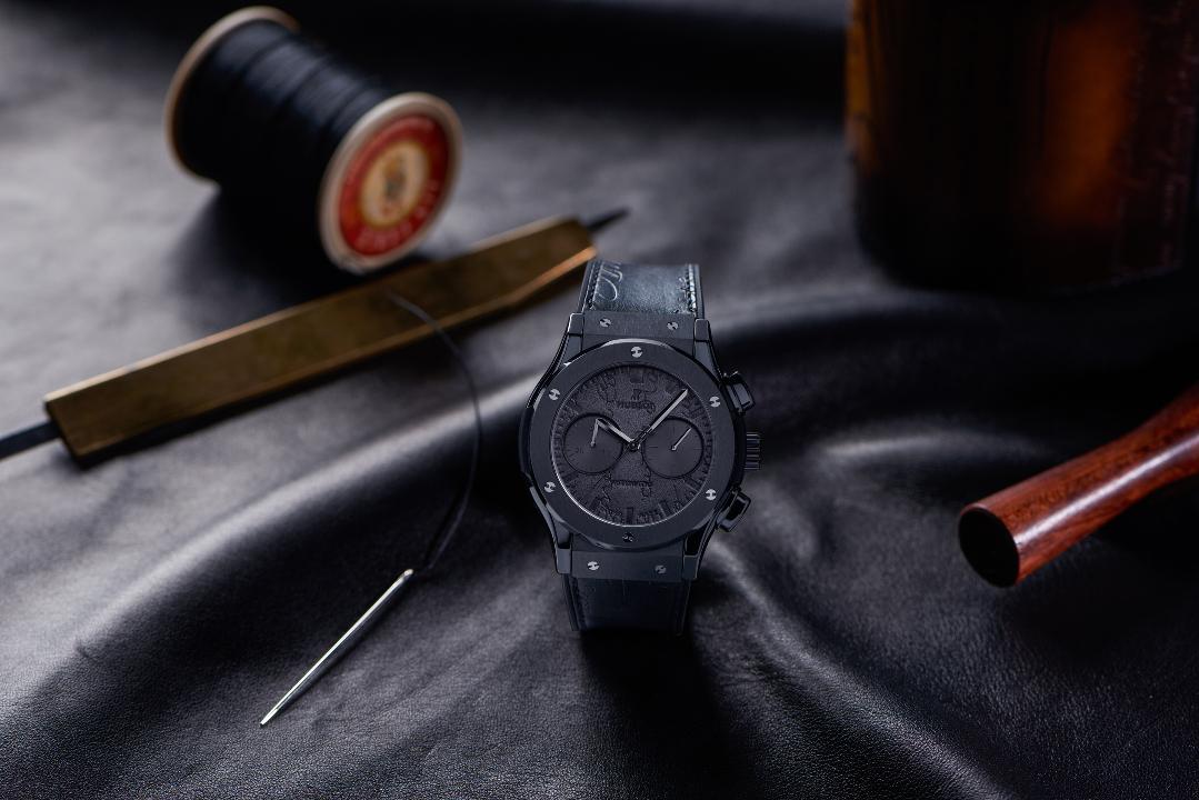 Hublot Classic Fusion Chronograph Berluti All Black
