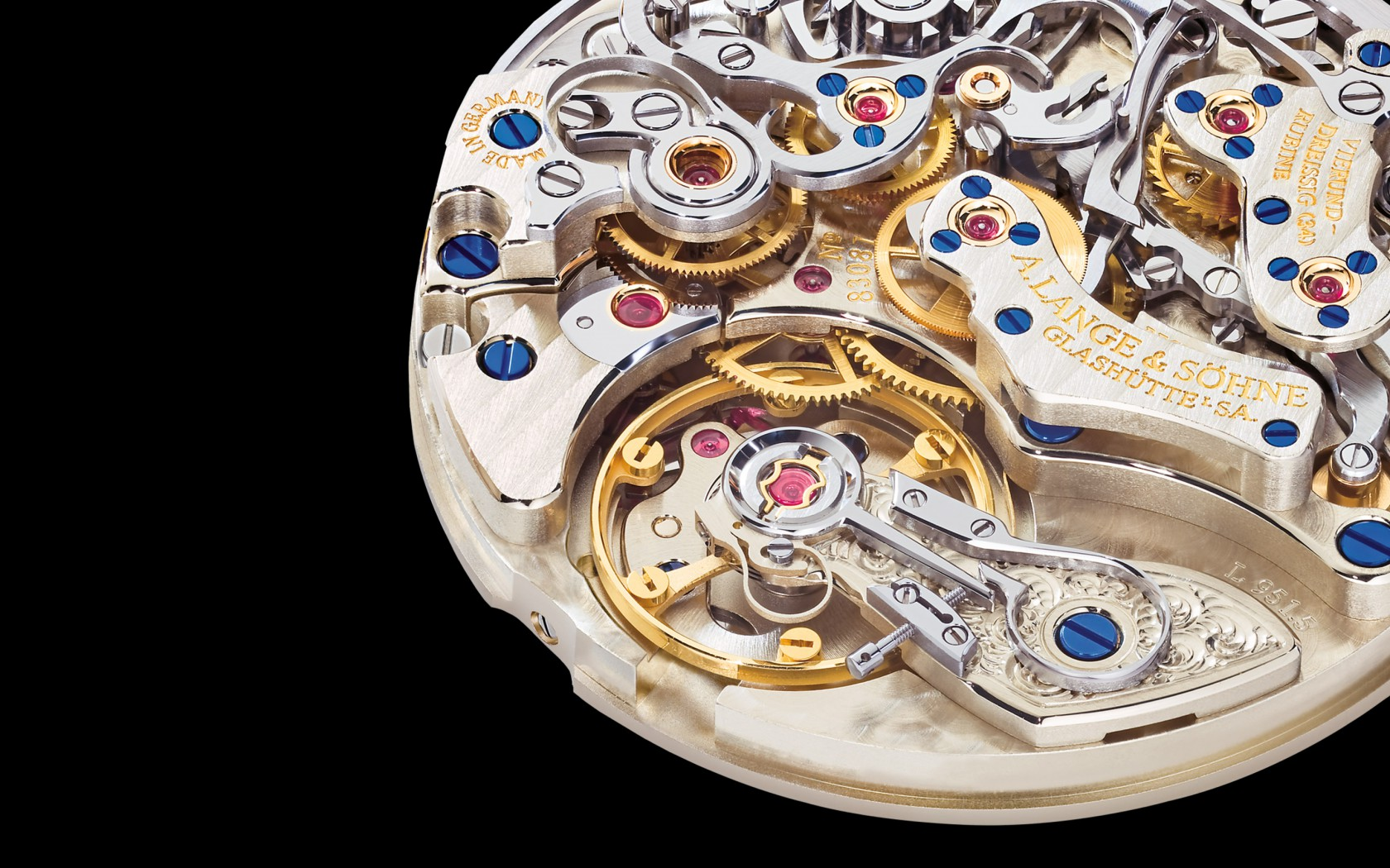 A. Lange & Söhne 1815 Chronograph with 18K White-Gold Case