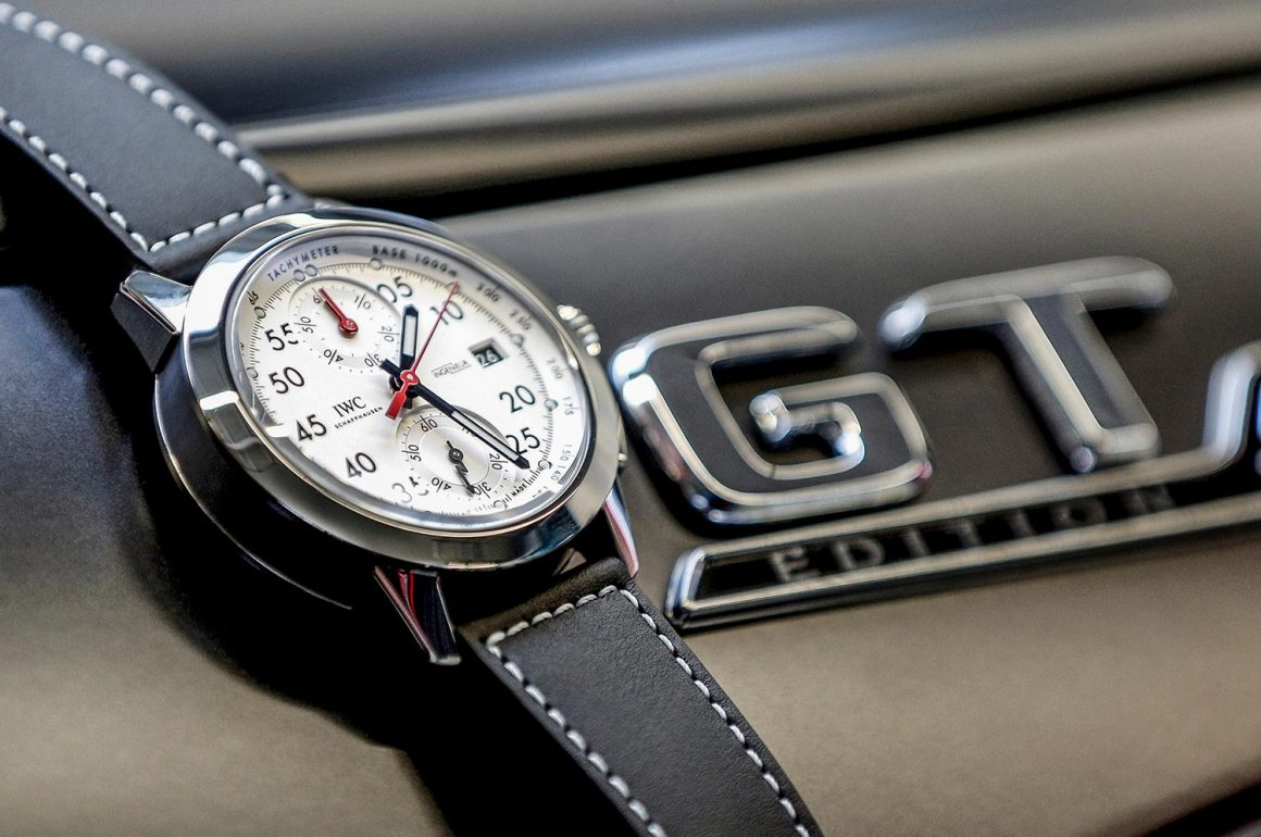 IWC Ingenieur Chronograph Sport Edition '50th Anniversary Of Mercedes-AMG' Watch