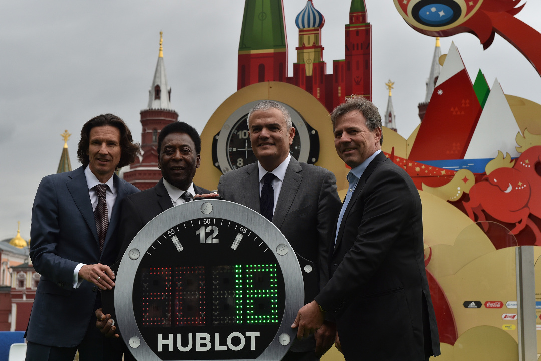 ONE YEAR FROM THE FIFA WORLD CUP 2018TM HUBLOT REIGNS SUPREME IN TIMEPIECES AND FOOTBALL