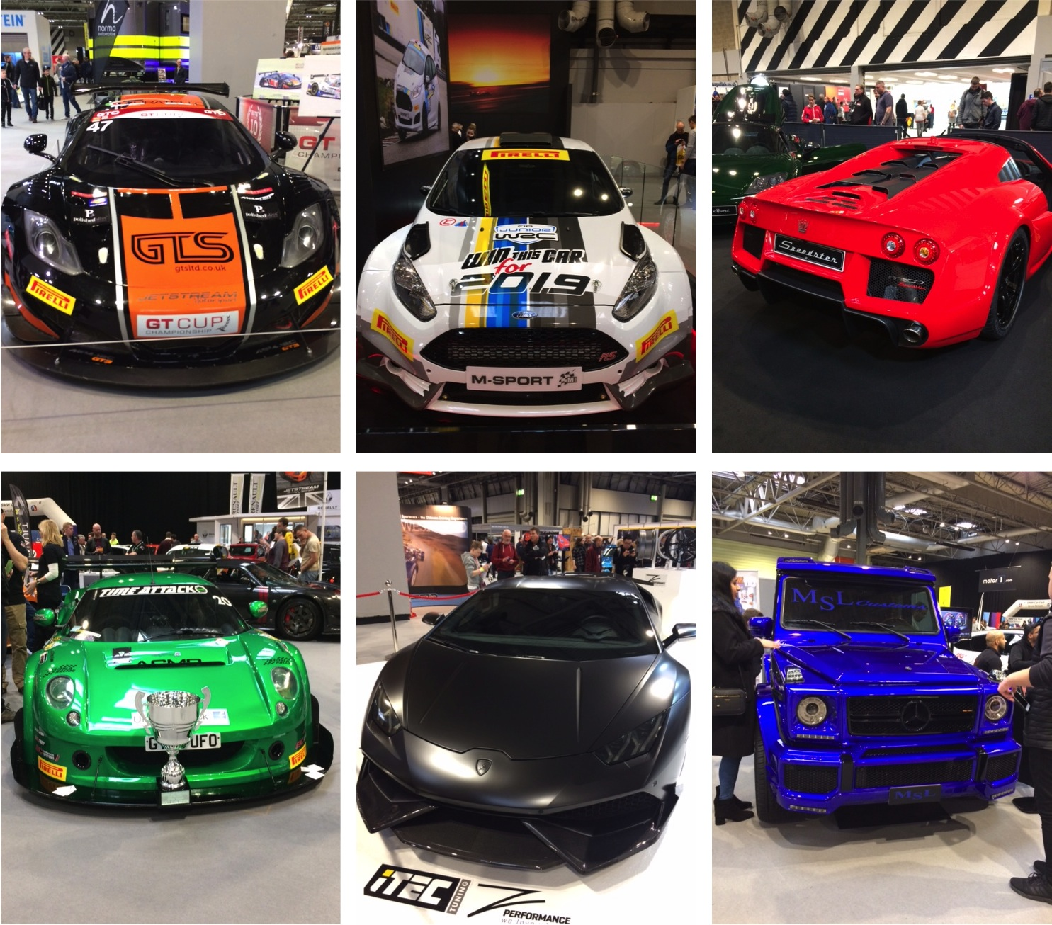 cars Autosport International 2018